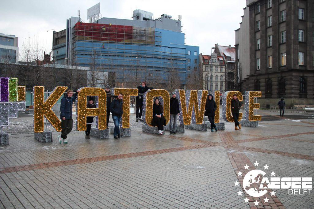 AEGEE January trip Katowice