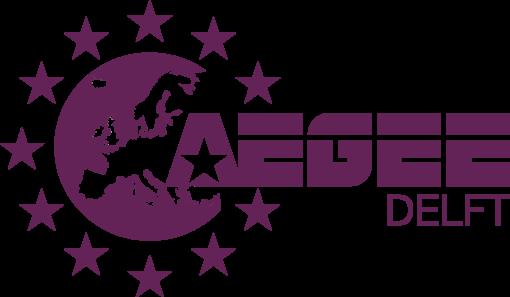 Purple AEGEE-Delft logo