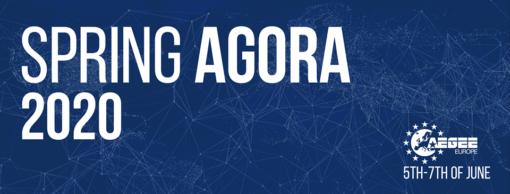 Spring Agora 2020 cover image