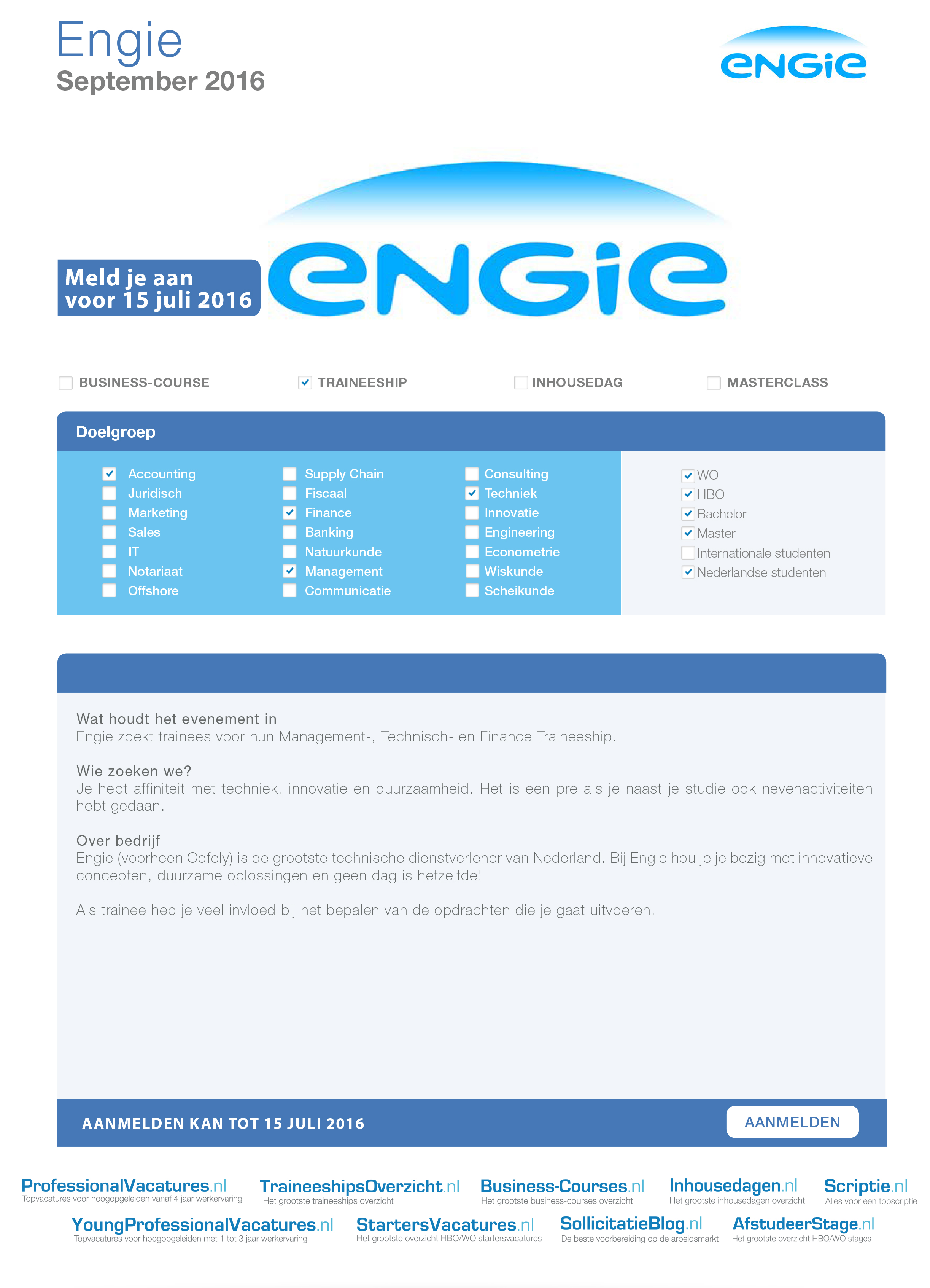 start your career here aegee delft factsheet engie