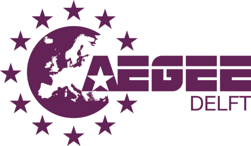 purple logo of AEGEE-Delft
