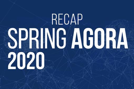Recap Spring Agora 2020 cover image